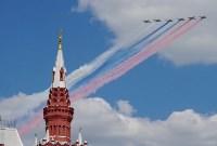 Тульская делегация побывала на генеральной репетиции парада Победы в Москве, Фото: 24