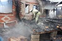 Пожар в цыганском поселении в Плеханово, Фото: 3