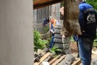 В Плеханово начали сносить дома в цыганском таборе, Фото: 9