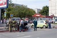 ДТП на перекрестке улиц Ложевой и Калинина, Фото: 9