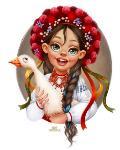 Лера Кирьякова: Девушки разных народов, Фото: 6