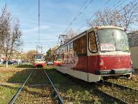 В Туле на ул. Кирова трамвай протаранил легковушку, Фото: 5