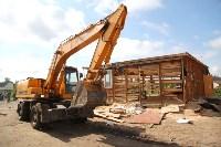 В Плеханово продолжается снос незаконных цыганских построек, Фото: 9