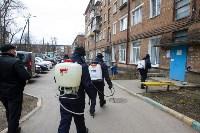 Дезинфекция в Пролетарском округе Тулы, Фото: 2