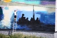 Граффити в Иншинке. Айвазовский. , Фото: 17