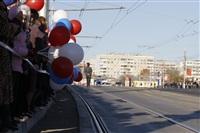 Второй этап эстафеты олимпийского огня: Зареченский район, Фото: 6
