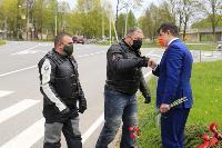 Тульские байкеры почтили память героев в Ясной Поляне, Фото: 10