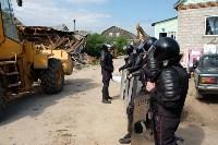 В Плеханово начали сносить дома в цыганском таборе, Фото: 89
