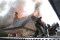 Пожар в доме по ул. Рабочий проезд. 27 сентября, Фото: 2