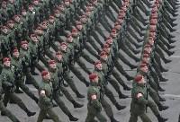 Репетиция Парада Победы в подмосковном Алабино, Фото: 112