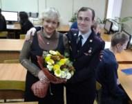 Капитан полиции Кирилл Кондратьев с мамой. Тульская область, Фото: 4
