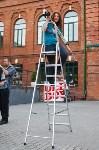 В Туле открыли скульптуру «блохе-киборгу», Фото: 29