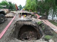 Очередной провал дороги в Мясново, Фото: 7