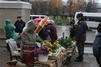 Стихийный рынок на ул. Пузакова, Фото: 2