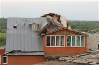 Последствия урагана в Ефремове., Фото: 32