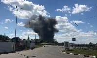В Алексине произошел крупный пожар, Фото: 1