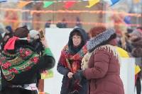 Как туляки провожали зиму на набережной Упы, Фото: 28
