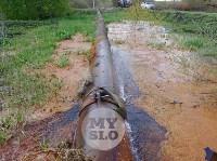 В деревне под Тулой из водопроводной трубы забили девять фонтанов, Фото: 6