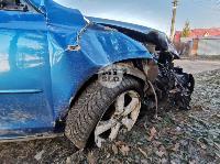 В Туле Mazda-3 сбила рябину и влетела в припаркованный Peugeot , Фото: 8