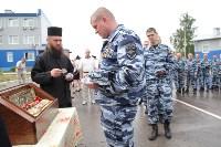 Сотрудники ОМОН поклонились мощам святого великомученика Георгия Победоносца, Фото: 42