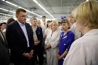 В Богородицке Алексей Дюмин посетил ООО «Завод №423», Фото: 4