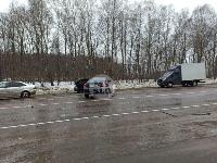 На дороге «Тула-Новомосковск» Ford протаранил Chevrolet, Фото: 7