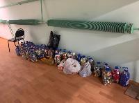 Экологический урок и сбор вторичного сырья организованы при поддержке Тульского филиала ООО «МСК-НТ», Фото: 3