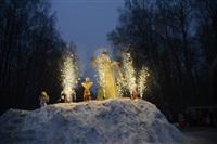 В ЦПКиО сожгли чучело зимы, Фото: 16
