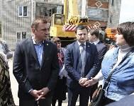 Алексей Дюмин проинспектировал работы по восстановлению дома в Ясногорске, Фото: 4