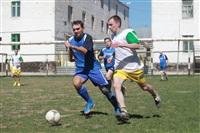 Тульские журналисты сыграли в футбол с зэками, Фото: 8