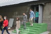 В Туле сотрудники МЧС эвакуировали госпитали госпиталь для больных коронавирусом, Фото: 18