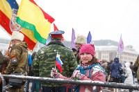 Митинг-концерт в честь годовщины присоединения Крыма к России, Фото: 2