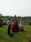 В Ясной Поляне прошел фестиваль молодежных фольклорных ансамблей «Молодо-зелено», Фото: 14