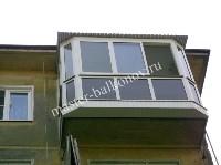 Новый балкон и тёплые окна осенью, Фото: 4