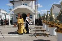 В тульской колонии освятили купола храма, Фото: 3