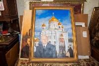 Александр Немцов рассказал об истории картины с Путиным, Богородицей и Николаем II, Фото: 4