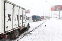 В лобовом ДТП на Восточном обводе ранены два человека , Фото: 10