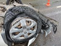 В Туле в ДТП с военным КамАЗом и такси пострадали три человека, Фото: 10