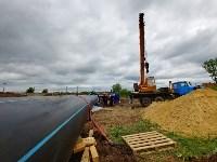 В Туле меняют аварийный участок трубы, из-за которого отключали воду в Пролетарском округе, Фото: 17
