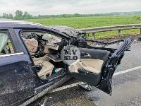 В серьезном ДТП на М-2 в Туле пострадали три человека, Фото: 17
