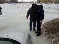 """В Туле вмерзла в лед """"Лада"""", Фото: 6"""