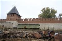 16 октября Владимир Груздев проконтролировал ход работ по благоустройству набережной, Фото: 9