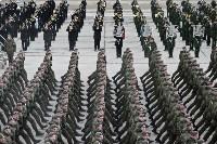 Репетиция Парада Победы в подмосковном Алабино, Фото: 122