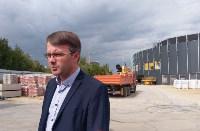строительство ледовой арены в Туле, Фото: 14