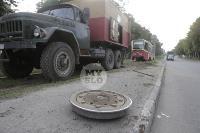 Авария с трамваем на ул. Металлургов, Фото: 1