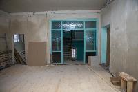 Дмитрий Миляев проверил, как идет ремонт вечерней школы на ул. Зорге, Фото: 8