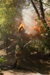 Пожар около Фролова, Фото: 14