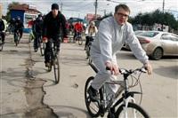По центральным улицам Тулы прошел велопробег, Фото: 64