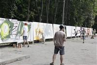 Молодые туляки попытали свои силы на конкурсе граффити, Фото: 5
