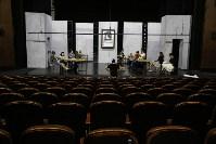 Репетиция в Тульском академическом театре драмы, Фото: 38